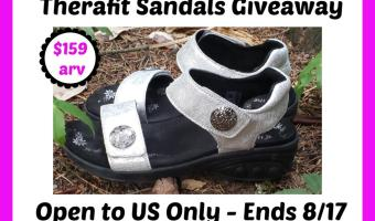 Therafit Melody Adjustable Sandal Giveaway