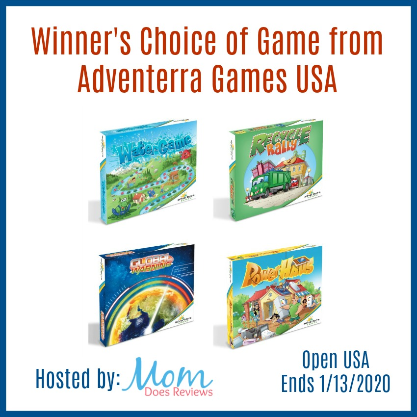 Win Your Choice of Game from  Adventerra Games