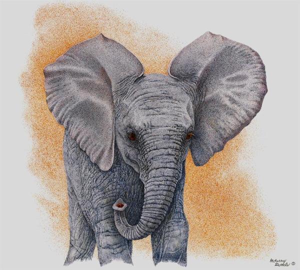 Sherry Steele Artwork - Promises   Elephant