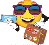 Travel And Holiday Emoticons Get Free Animations And Clipart For Download