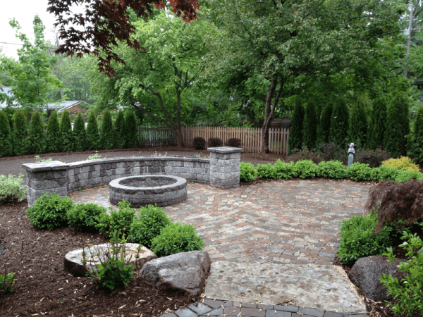 landscaping ideas sherwood forest