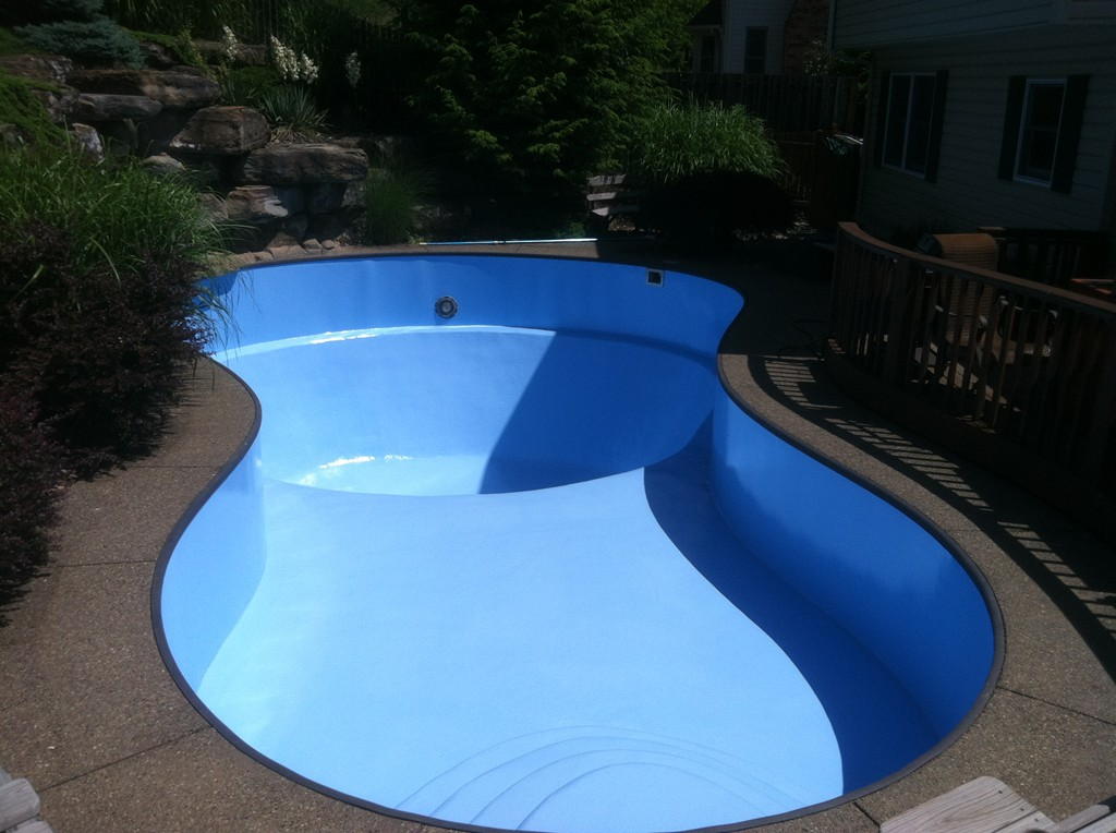 Pool Painting Sherwood Valley Pools Home Of The Hard