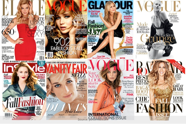 Just Say No to Fashion Mags