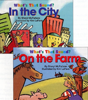 What's That Sound? In the City and On the Farm by Sheryl McFarlane