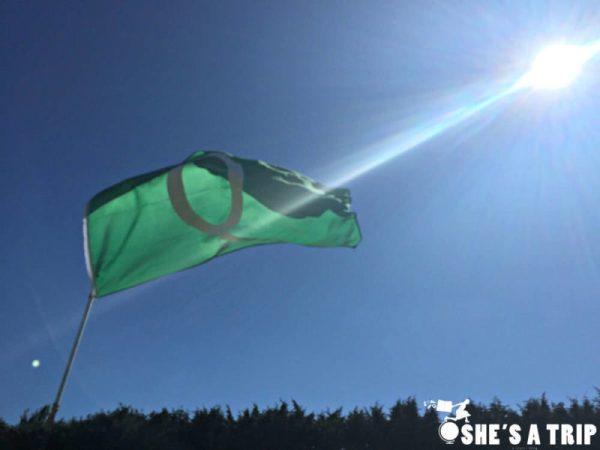 The Queue Flag at Wimbledon