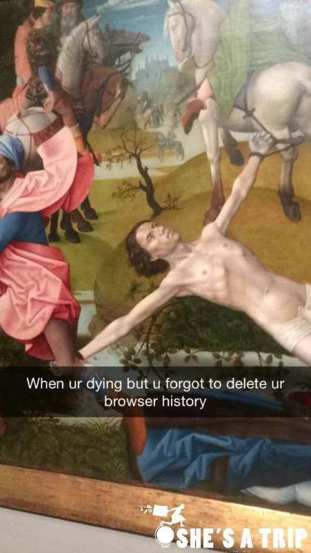 funny Snapchat captions MFA Boston Snapchats