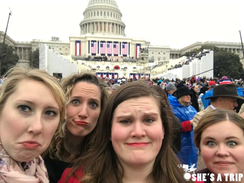 Unimpressed at the Inauguration