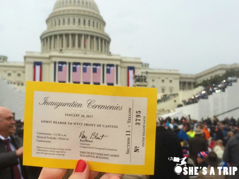 What was it like at Trump's inauguration how to get good inauguration tickets