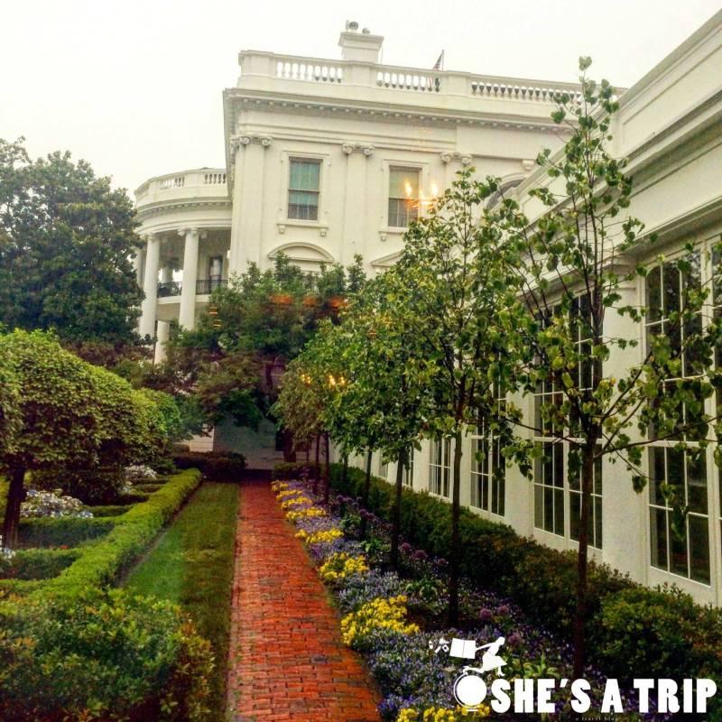 White House Garden View