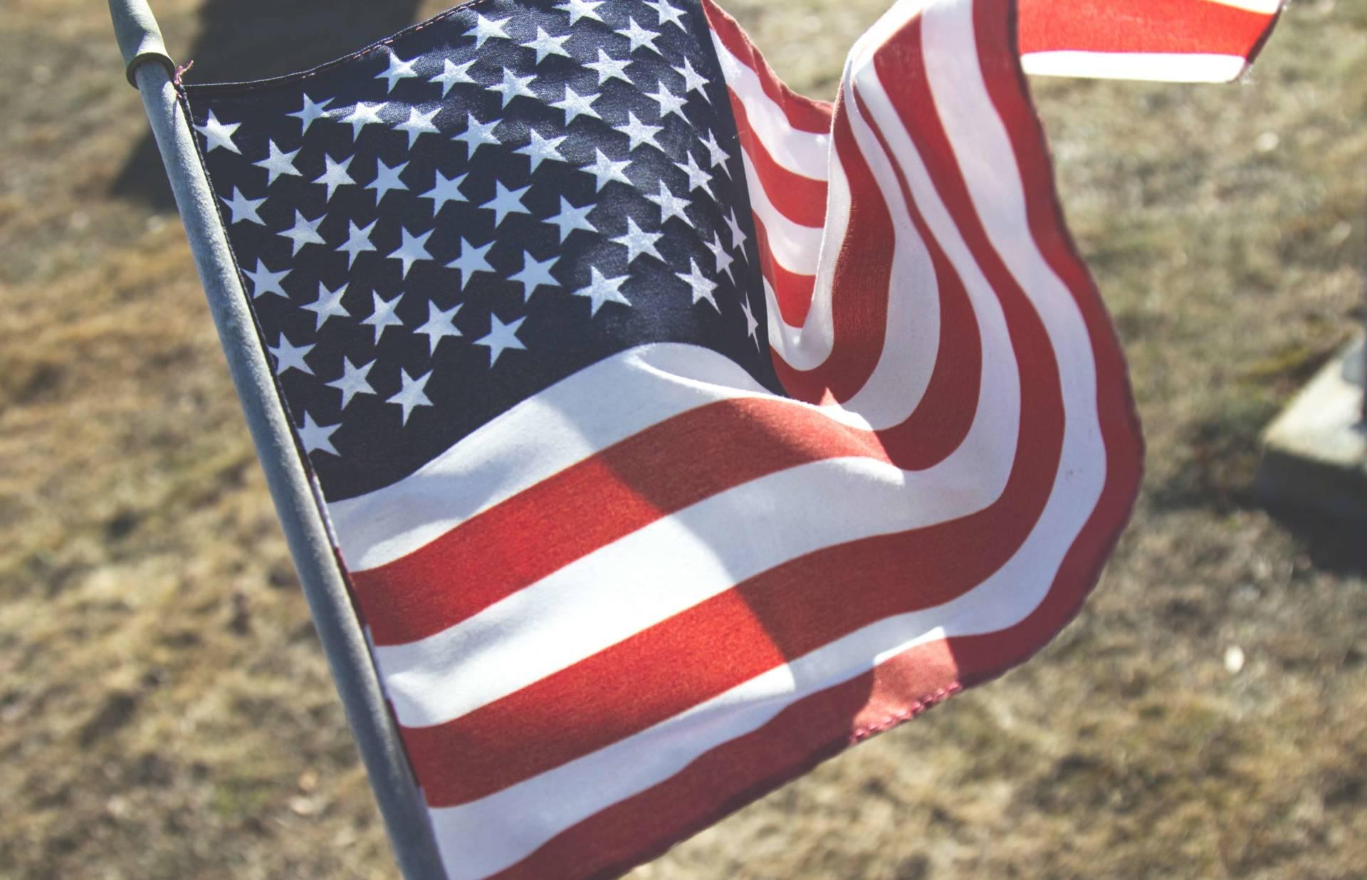 Trump American Flag