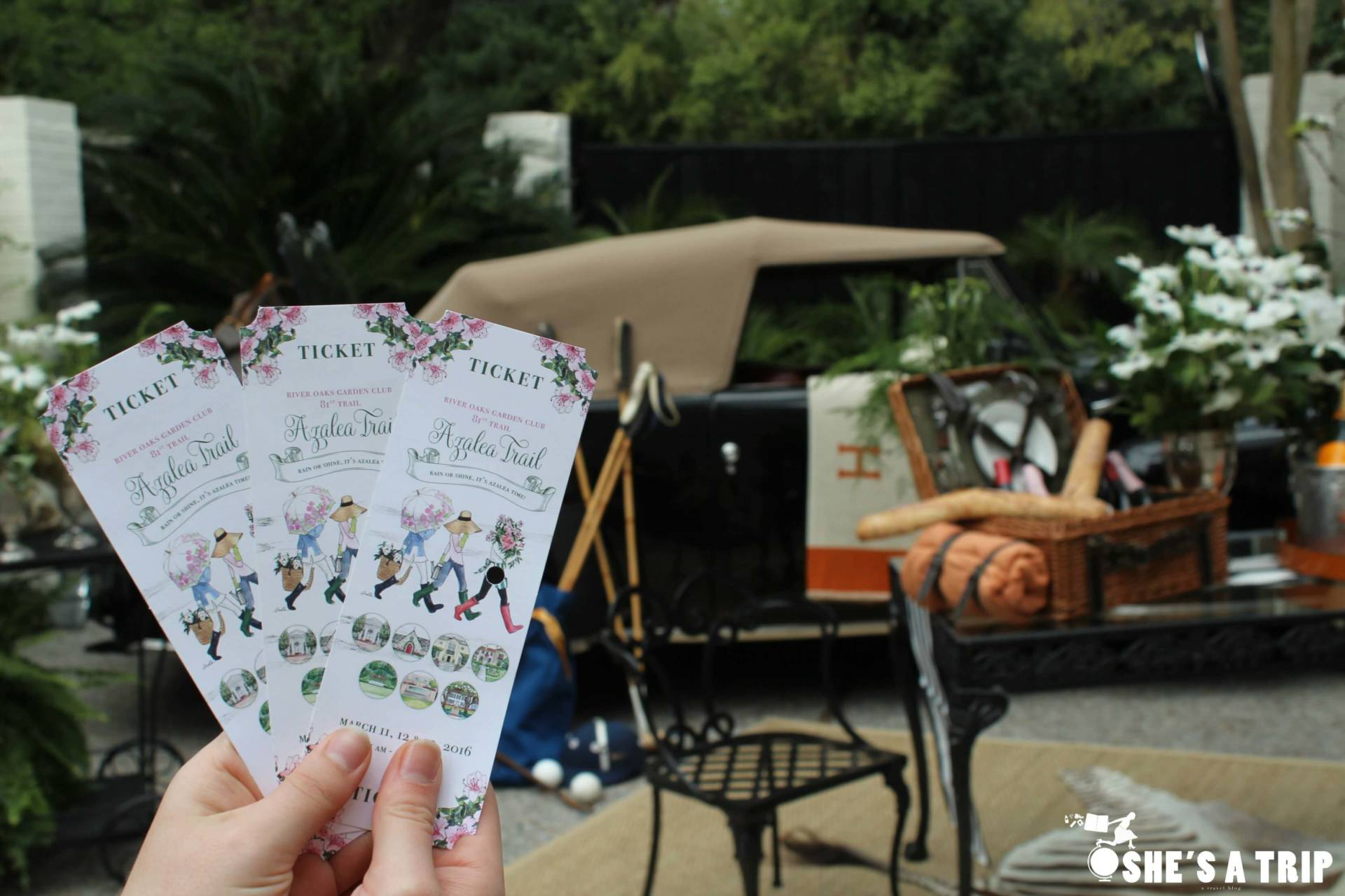 Azalea Trail Tickets