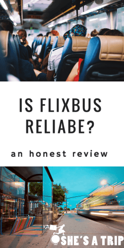 Is flixbus reliable? honest flixbus review