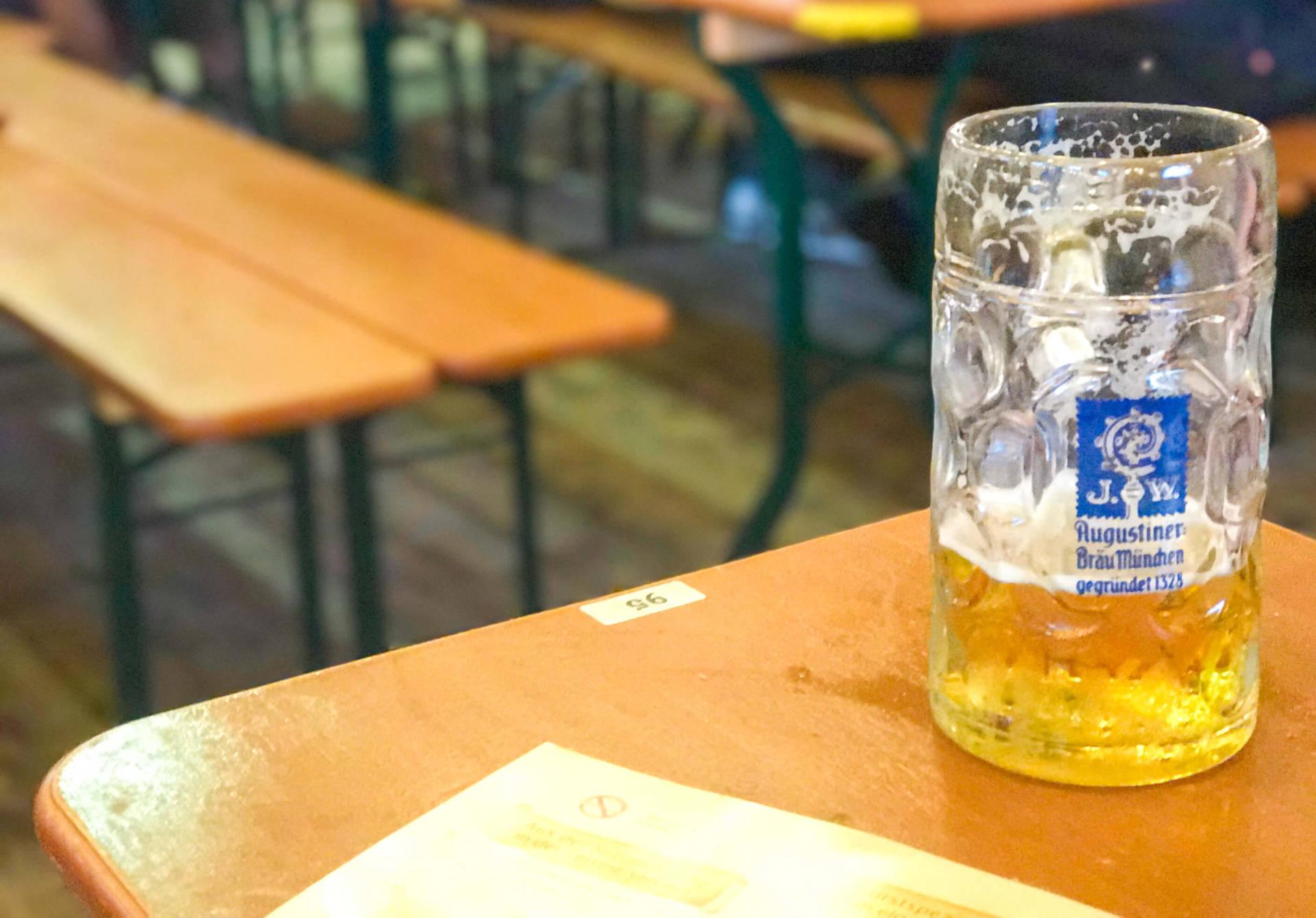 Sober at Oktoberfest Oktoberfest drinks other than beer Not drinking at Oktoberfest