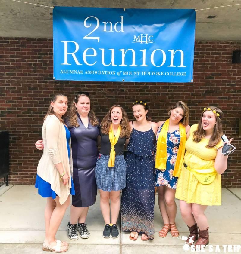 mount holyoke college 2 year reunion