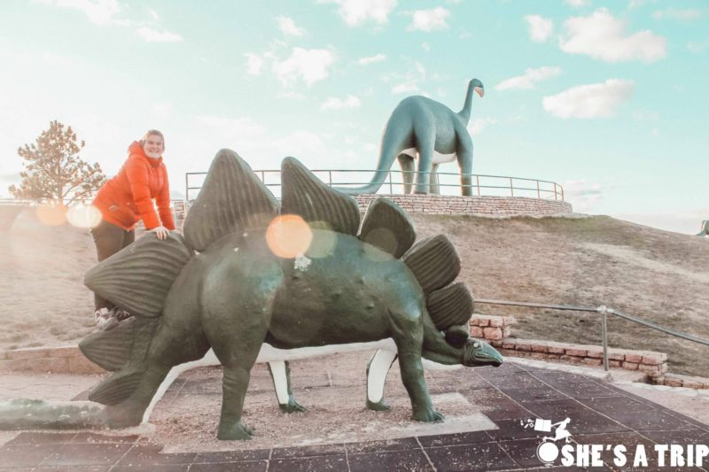 things to do in Rapid city South Dakota Dinosaur Park