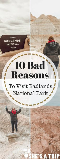 reasons to visit Badlands national park south dakota