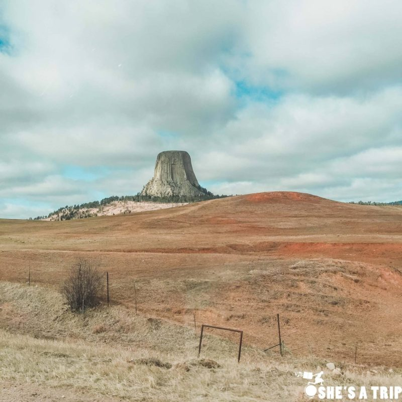 how to get to devils tower national monument wyoming