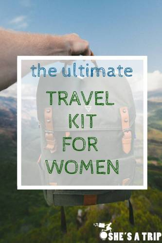 travel kit for women essential travel supplies