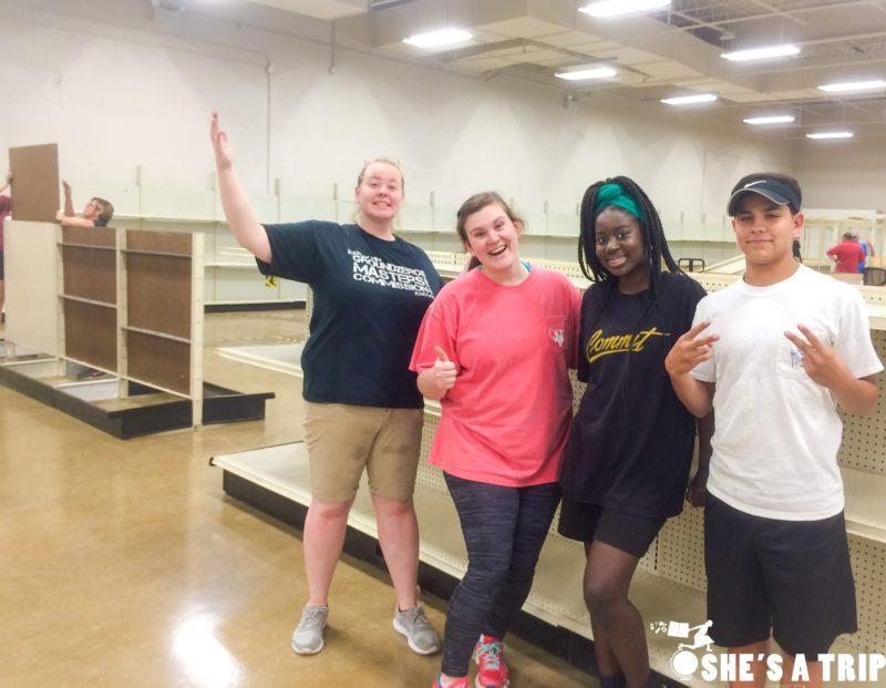 Volunteering in Nashville Habitat for Humanity