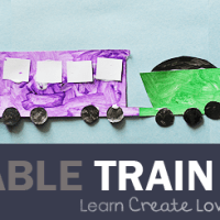 FREE Printable: Train Craft