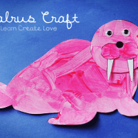FREE Printable: Walrus Craft