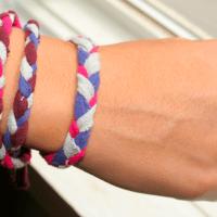 She's Creative! T-Shirt Bracelets