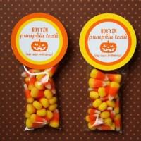 FREE Printable Halloween Circle Tags