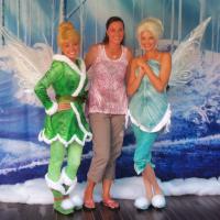 Meet & Greet with Tinker Bell & Periwinkle #DisneyInHomeBloggers #DisneyFairies