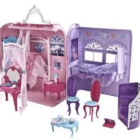Barbie The Princess and The Popstar Princess Playset for $26.99 Shipped