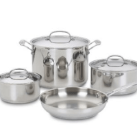 Cuisinart Stainless Cookware Set for $97.10 Shipped
