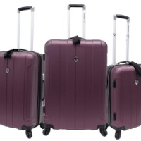 Travelers Choice Luggage Set for $126.82 Shipped
