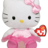 Ty Hello Kitty Beanie Babies (8 inch) for $6.09 Shipped