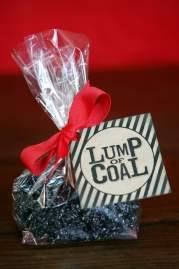 Free Printable Lump of Coal Tag