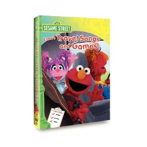 Elmos Travel Songs DVD