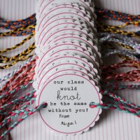 FREE Printable Friendship Bracelet Valentines
