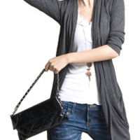Gray Cardigan for $12.07 Shipped
