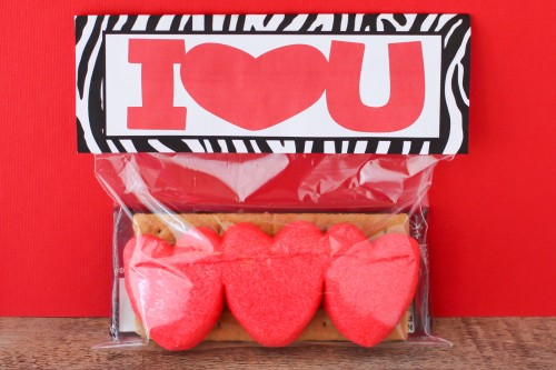 Valentines Day Treat Bag Topper Printables