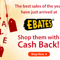 Winner, Winner, WINesday #5: Ebates New Year Sales Cash Back + $50 Giveaway