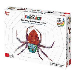 The Very Busy Spider Childrens Board Game