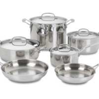 Cuisinart Stainless Cookware Set for $98.75 Shipped