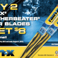 Rain-X Wiper Blade Rebate | $8 Back WYB 2