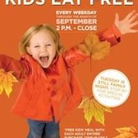 Bob Evans | Kids Eat FREE In September