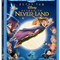 Peter Pan: Return to Never Land Blu-Ray DVD Review + Giveaway!!