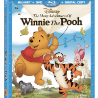 Disney's The Many Adventures of Winnie the Pooh Blu-Ray Combo Review + Giveaway