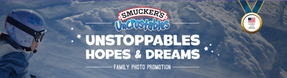 Unstoppables Hopes & Dreams Family Photo Promotion