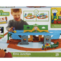 Playskool Sesame Street Elmo Junction Train Set For $29.99 Shipped