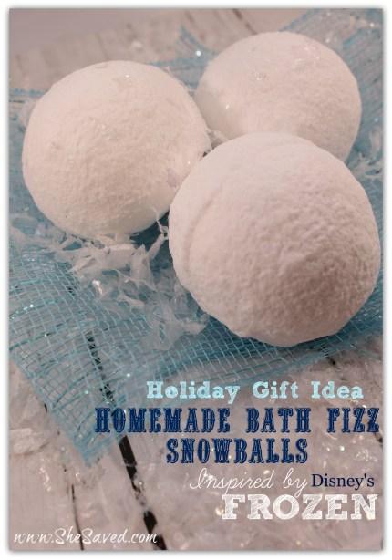 Bath Fizz Snowball