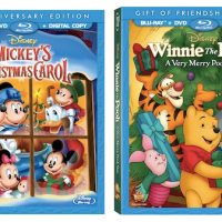 Two Great Disney Holiday DVDs: Mickey's Christmas Carol and Winnie the Pooh A Very Merry Pooh Year