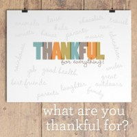 FREE Thanksgiving Printable From Paper Coterie