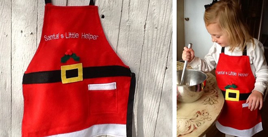 Santas Little Helper Apron